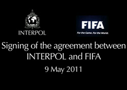 Interpol et la FIFA